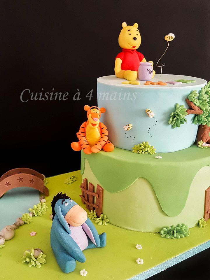 Gâteau d\u0027anniversaire Winnie l\u0027ourson